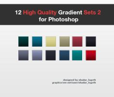 High Quality Gradient Set for Photoshop - Pack 2 by ShadarL