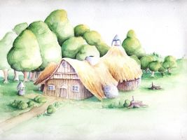 Cottage by Anamia