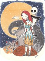 The nightmare before christmas by Lianhuajinse