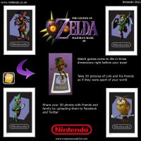 Majora's Mask 3D AR Cards (Operation Moonfall) by FantasyDragons