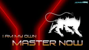 Bladewolf - I Am My Own Master Now (Wallpaper) by KangTheSpartan