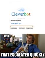 Derpin' With Cleverbot 4 by Skittles91k