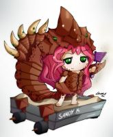 ChibiDota - Sand King by HelloATK