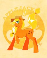 Applejack is a Good Pony by SteveHoltisCool