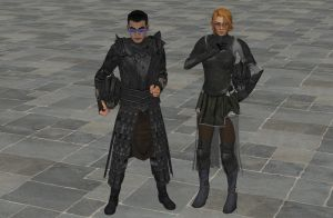 'TES4: Oblivion' Underworld Armor XPS ONLY!!! by lezisell