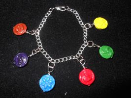 Sage Medallion Bracelet- for sale by JenniferSlattery