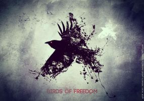 Birds of freedom by Mors-Infinnita