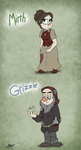 Mirth and Grizzle by SnowStoat