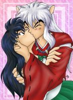 InuYasha makes a move by cowgirlem