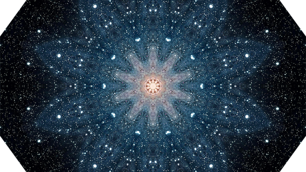 Andromeda Galaxy (m31) - Kaleidoscope (10 sides) by asht0n112358