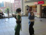 More Toph and Sokka by snowtool