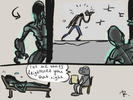 Outlast, doodles 4 by Ayej