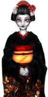 The Dead Maiko by SoraIcefreeze