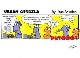 Urban Gerbils. Soup by DannoGerbil
