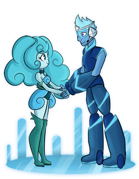 Hemi and Silicon by Cosmic-Candy-Shop