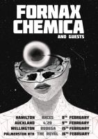 Fornax Chemica poster with text by TooFriendly