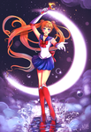 Sailor Scout Series: Sailor Moon by Silvercresent11