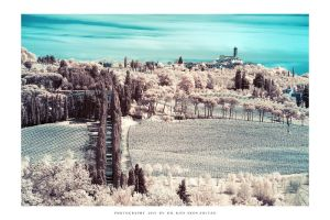 Tuscany IR - I by DimensionSeven
