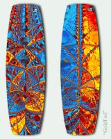 GoldFoil Kiteboard by WiseWanderer