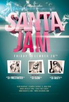Santa Jam Flyer / Videoflyer by nadaimages