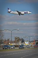 SP-LIN - Embraer ERJ 170 - LOT-Polish Airlines by mysterious-one