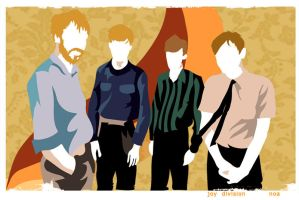 Joy Division by noakrank