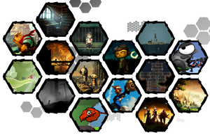 Indie Games Icons by WE4PONX