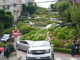 Lombard Street. by donna-j