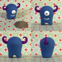Herve the Timid Monster by TimidMonsters