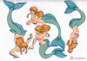 Mermaids by Vossy
