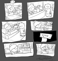 Crappy Cashier Comic 2. by Kruby23