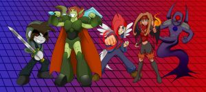TOME: Our Heroes! by Kirbopher15