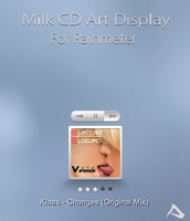 Milk CD Art Display by DemchaAV