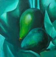 Study: Alligator Pears (1923) by Georgia O'Keeffe by Sisterz0r