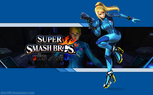 Zero Suit Samus - Super Smash Bros. Wii U/3DS by AlexTHF