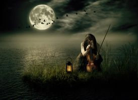 Wistful Music at Night by SuicideOmen
