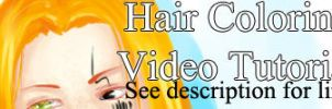 Hair coloring tutorial by Captain-Bownie