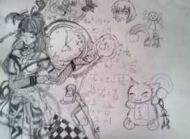 EPIC MATH NOTE DOODLE OF DOOM by Otori2-2