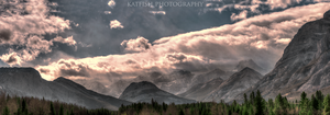 Kananaskis mountains by Ironwi11