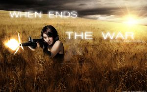 When Ends the WAR by AngelDesigns2013