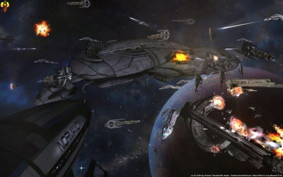 Geth Dreadnought by Euderion