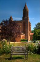 Quarr Abbey by Tangent101