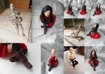 Doll in red dress (detailed look) by akville