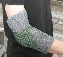 Chainmail Elbow Joint 1 by DracoLoricatus