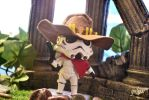 Nendoroid x Overwatch: Stormtrooper as McCree by gale015