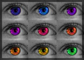 Rainbow Eyes by Annelies200
