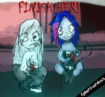 FINISH HER GAME by Dark-ink-Factory