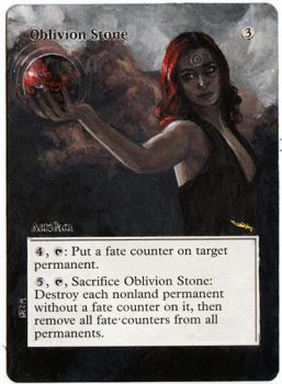 Magic alteration: Oblivion Stone 8/2/14 by Ondal-the-Fool