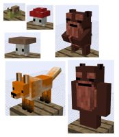Mobs for Minecraft Mod by GroudonMcL
