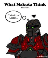 What Makuta Think - Icarax by Krekka01